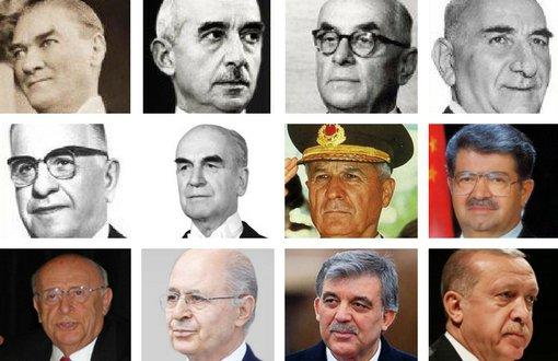 Türkiye Cumhuriyeti Cumhurbaşkanları